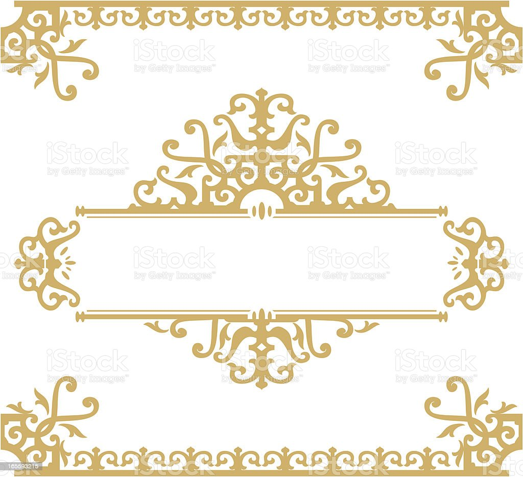 Ornamental Banner royalty-free stock vector art