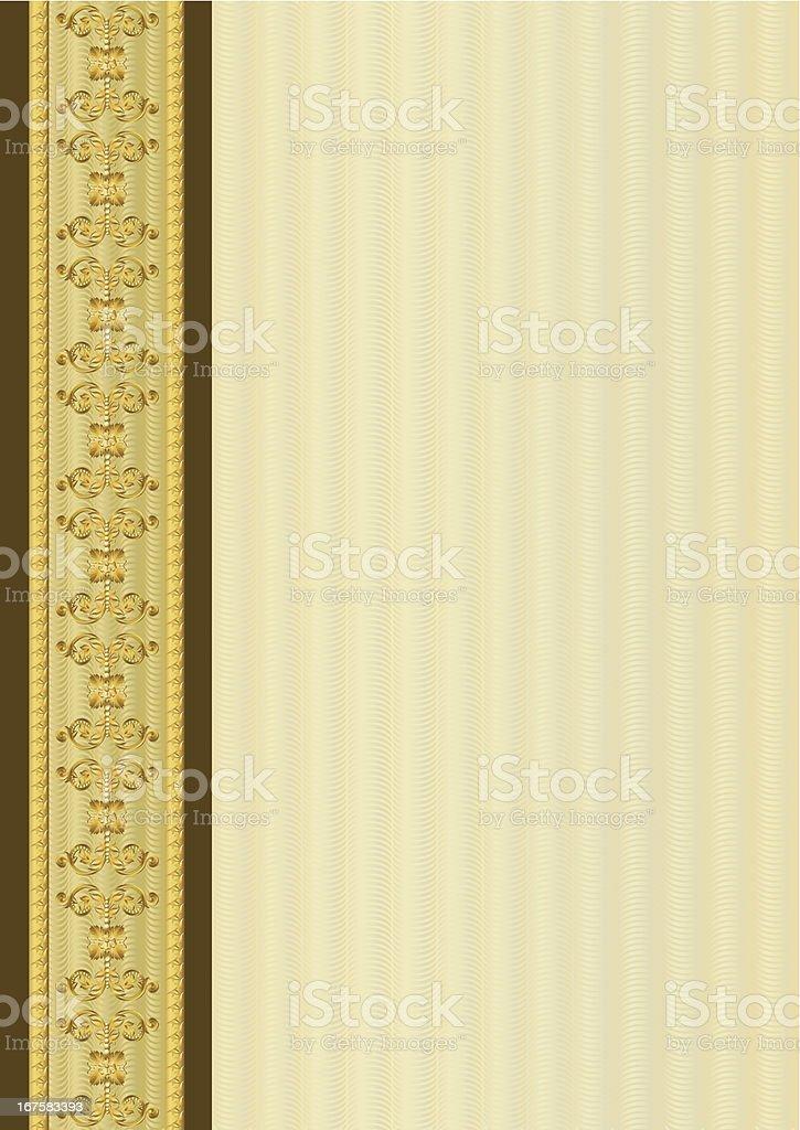 Ornamental Border royalty-free stock vector art