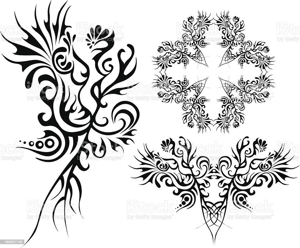 Indisches design-Elemente Lizenzfreies vektor illustration