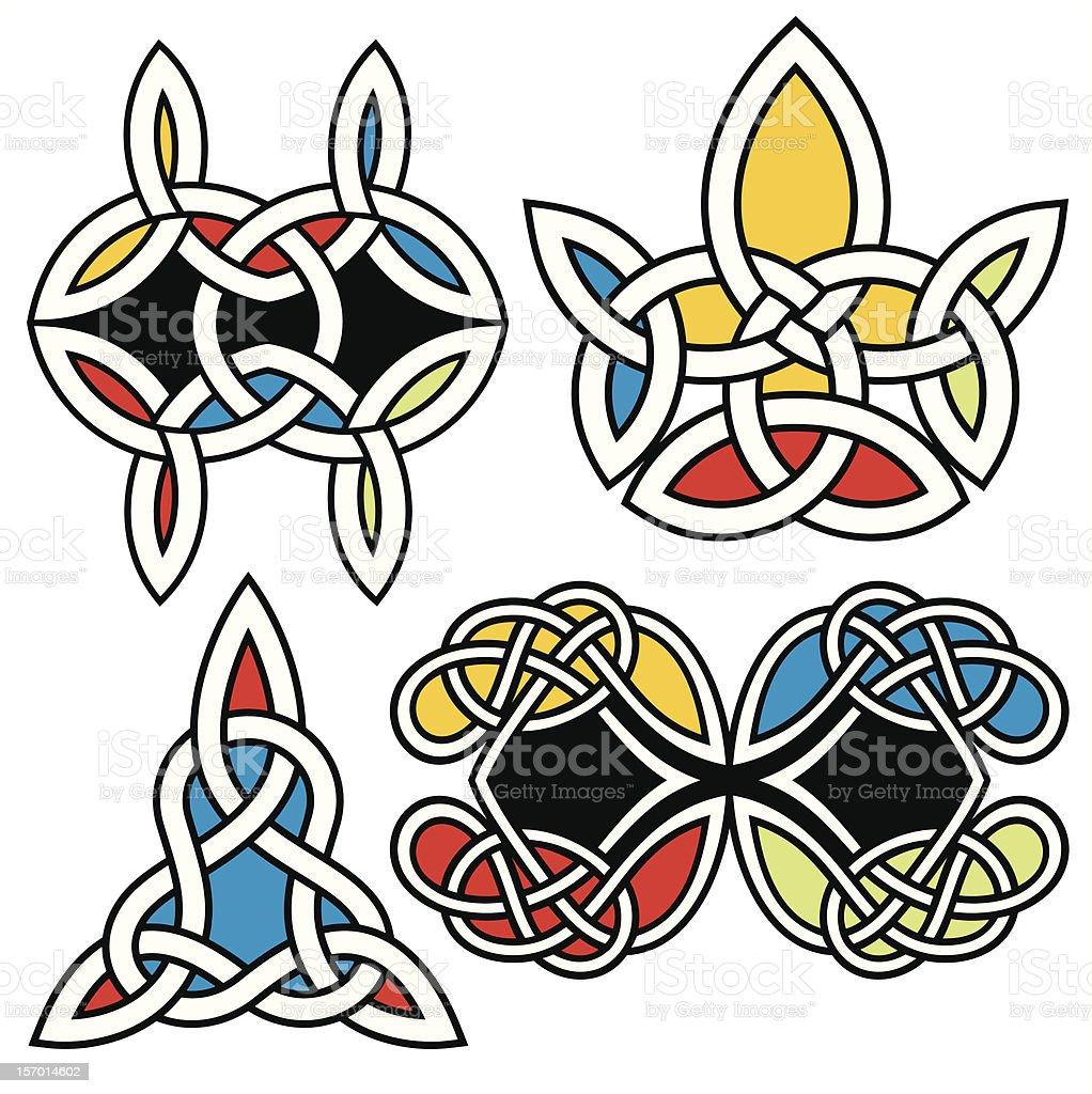 Ornamental Design Series. Celtic style royalty-free stock vector art
