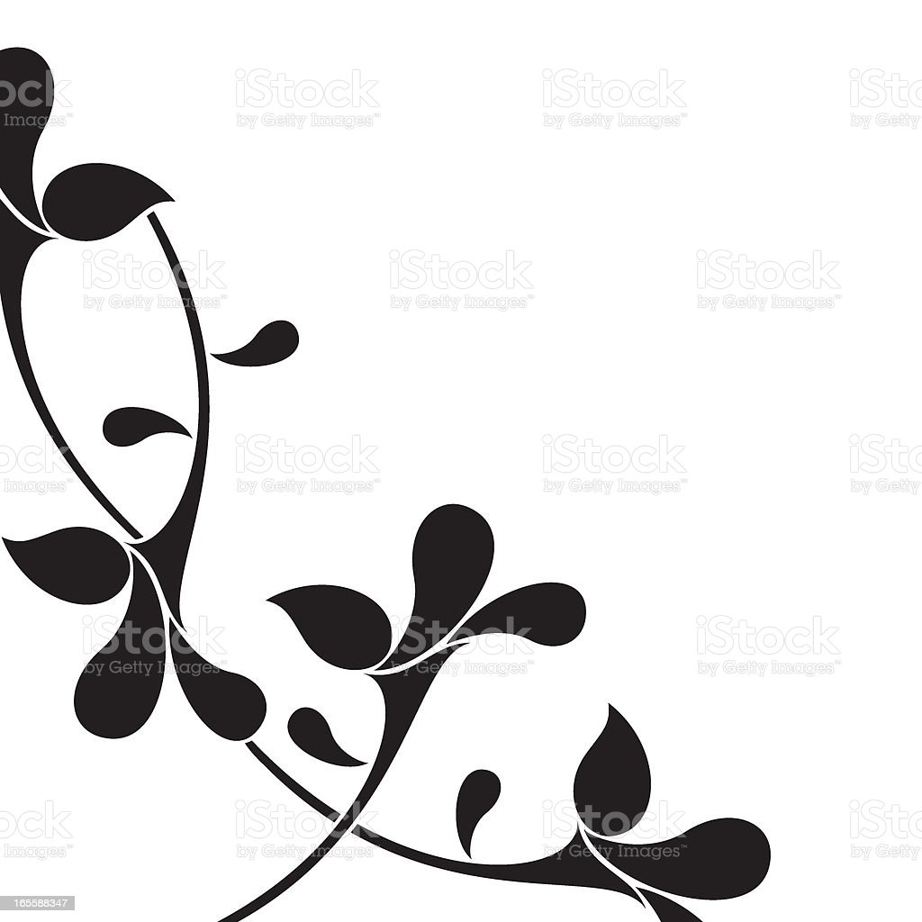 Ornamental detail royalty-free stock vector art