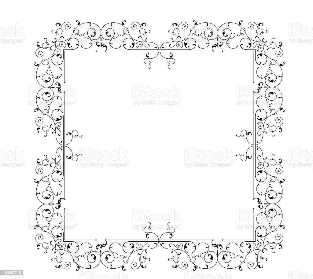 Ornamental Frame royalty-free stock vector art