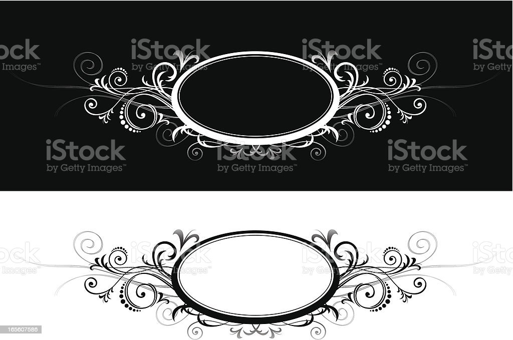 Ornamental Insignia royalty-free stock vector art