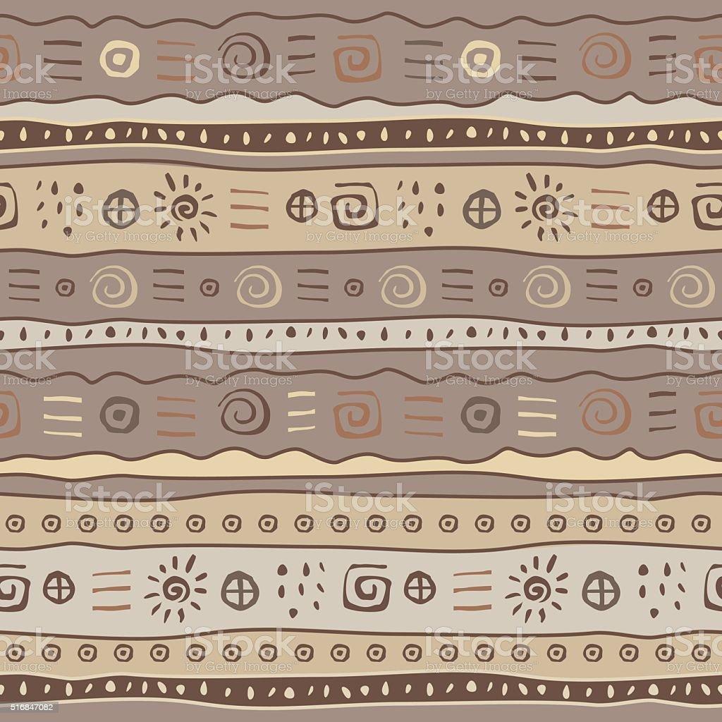 ornamental pattern vector art illustration
