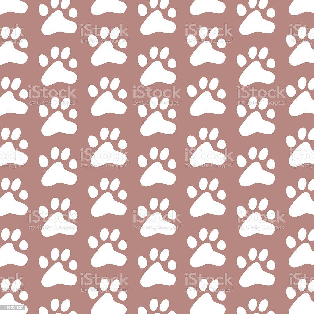 ornamental paws royalty-free stock vector art
