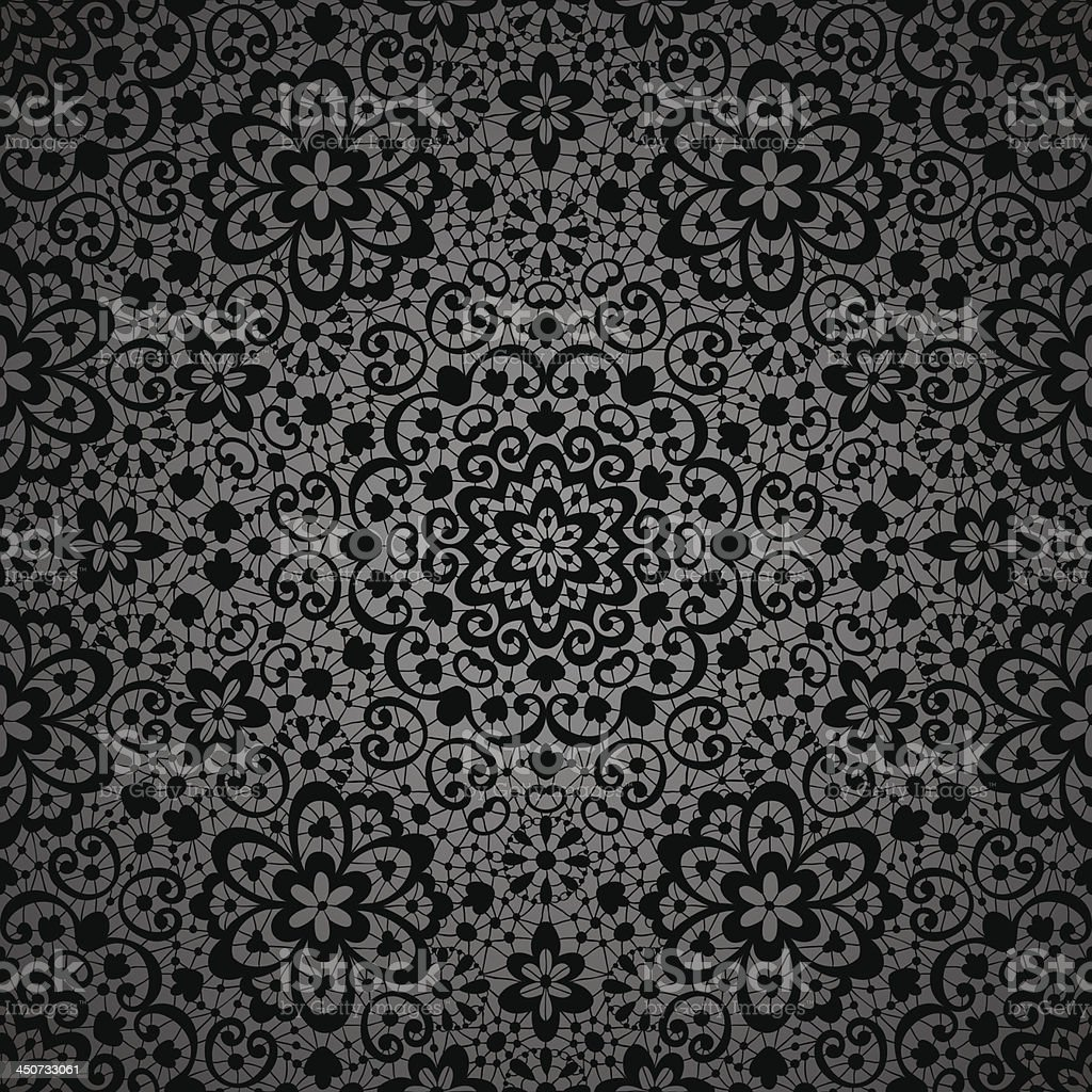 Ornamental seamless lace pattern royalty-free stock vector art