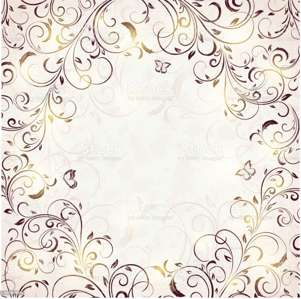 Ornate background royalty-free stock vector art