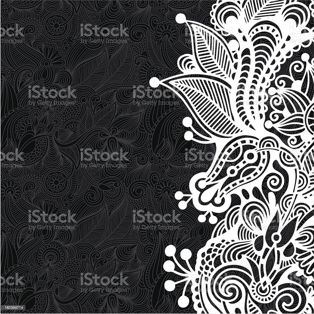 ornate card royalty-free stock vector art