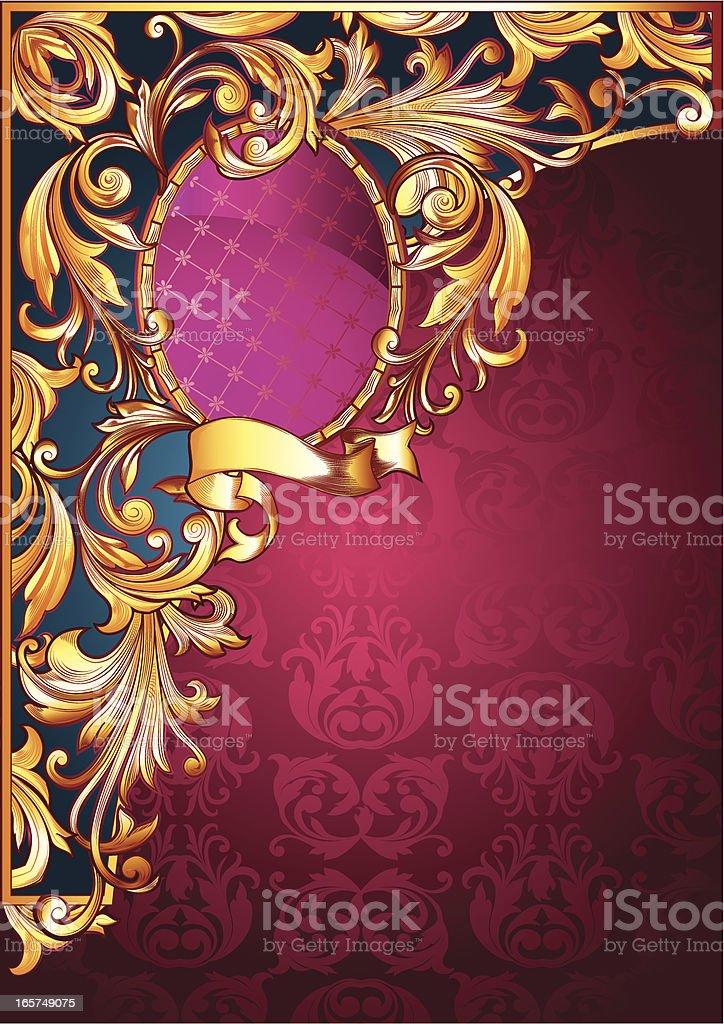 Ornate Corner royalty-free stock vector art