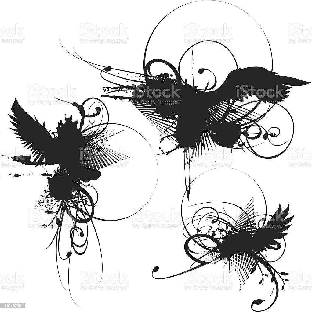 ornate elements royalty-free stock vector art