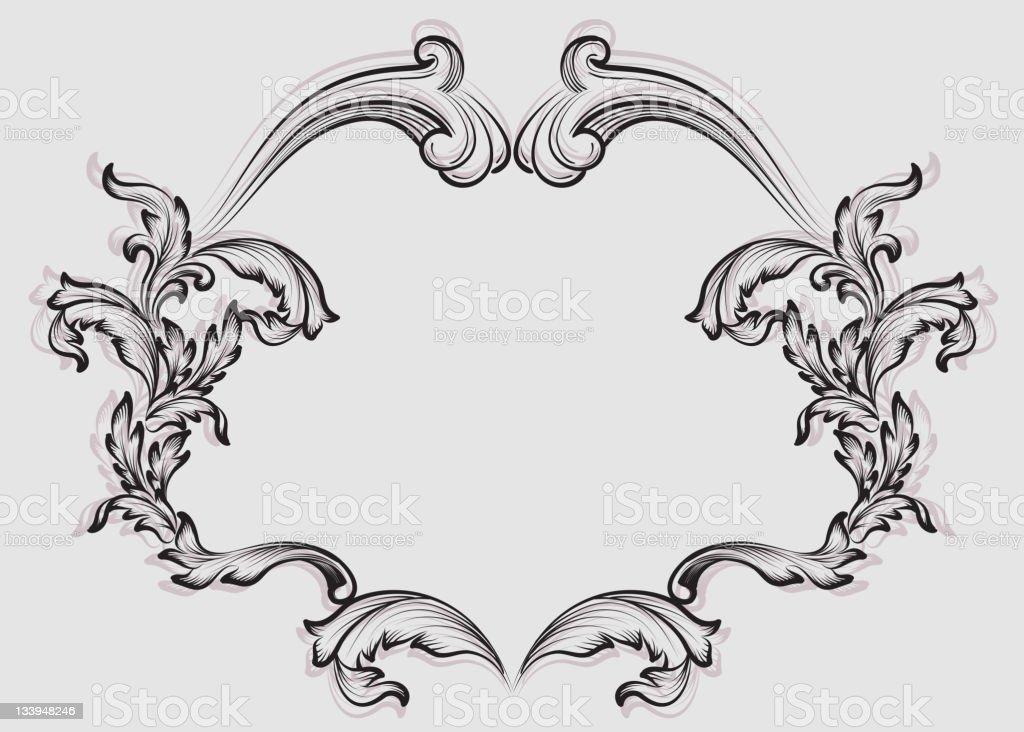 Ornate Frame royalty-free stock photo