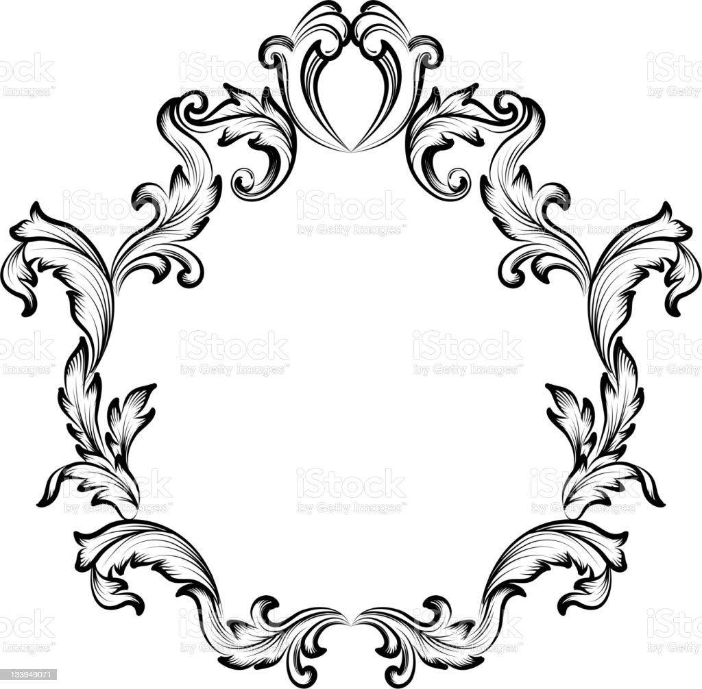 Ornate Frame Stock Vector Art 133949071 Istock