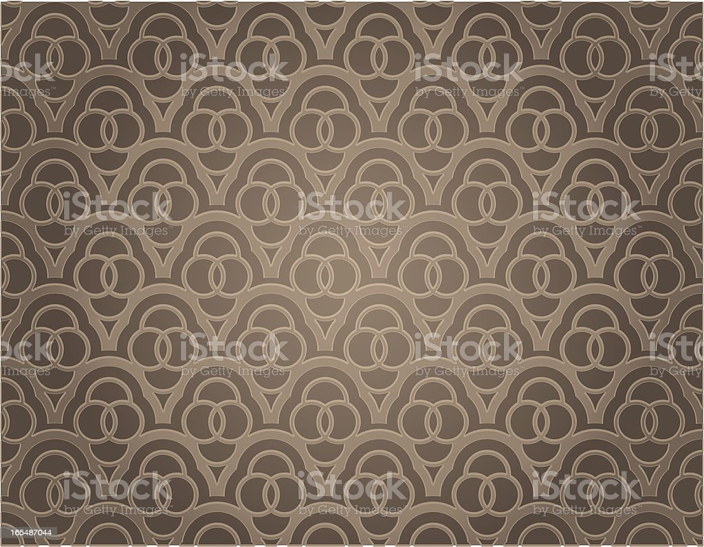 Ornate Indian Background royalty-free stock vector art