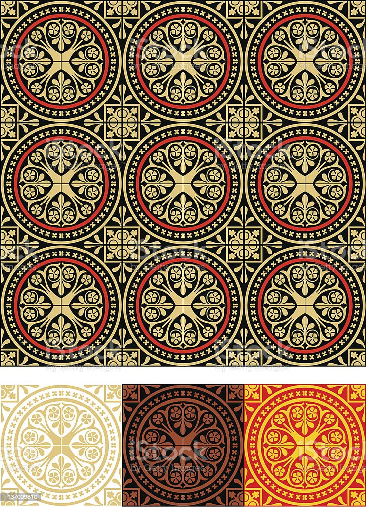 Ornate. Middle ages. royalty-free stock vector art