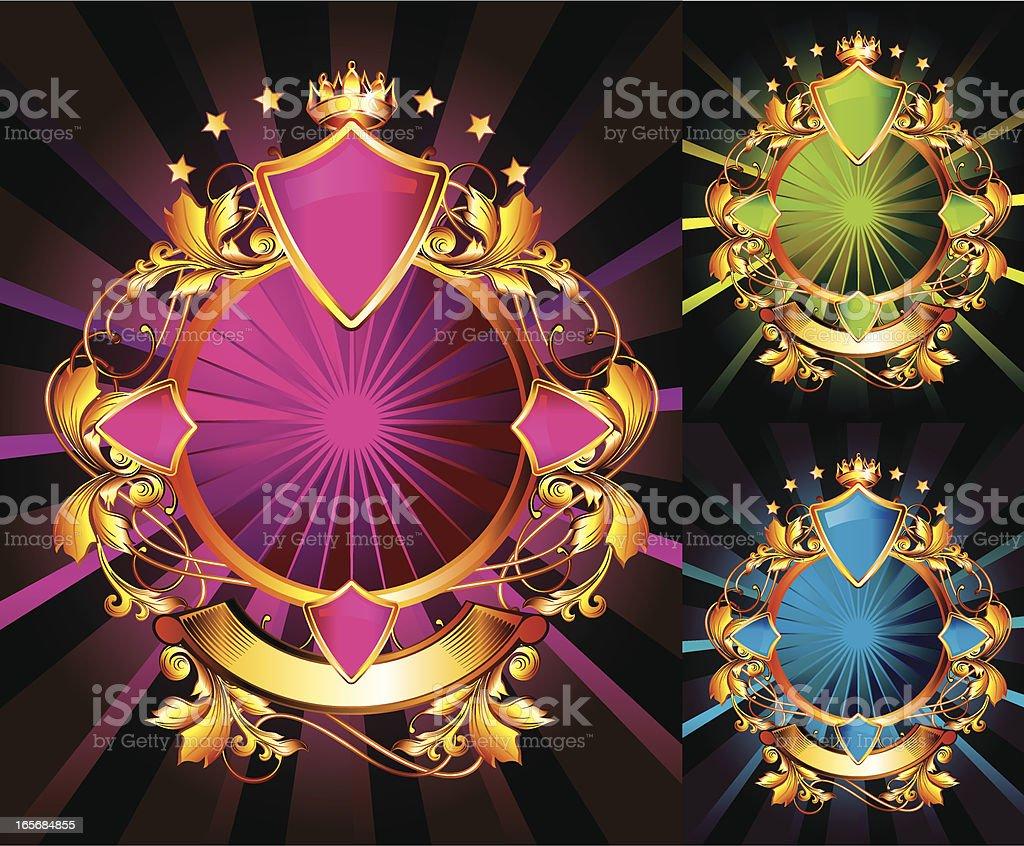Ornate Retro royalty-free stock vector art
