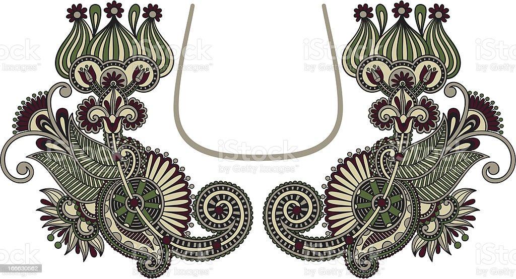 ornate symmetry embellishment royalty-free stock vector art