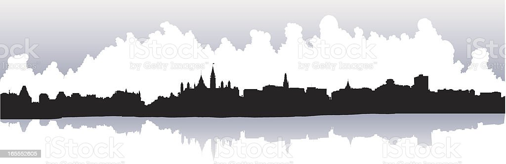 Ottawa, Canada royalty-free stock vector art