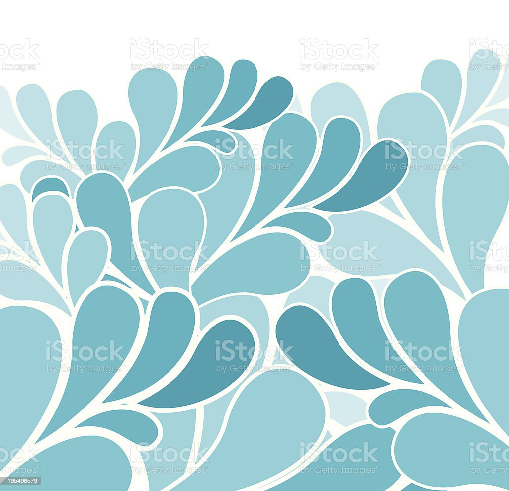 Out to sea vector art illustration