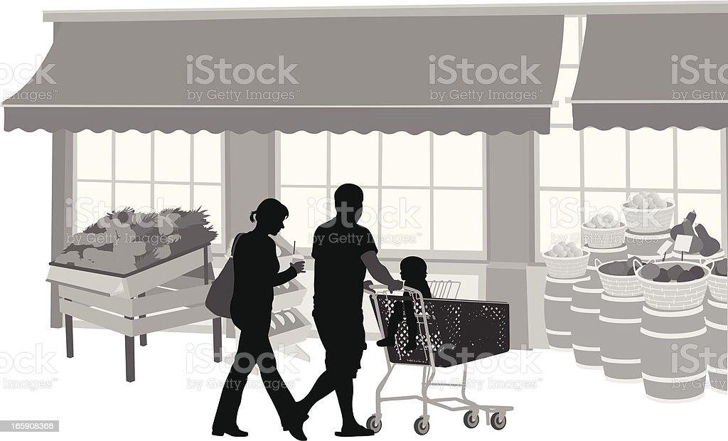OutdoorFoods vector art illustration