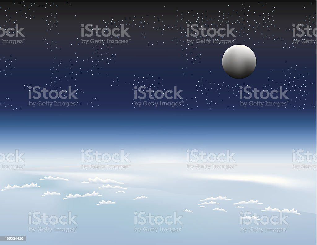 outerspace royalty-free stock vector art