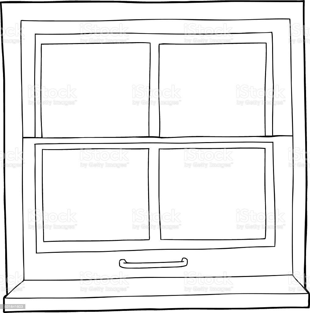 Fenster schließen clipart  Kontur Comic Fenster Vektor Illustration 531841803 | iStock