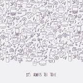 outline tea time