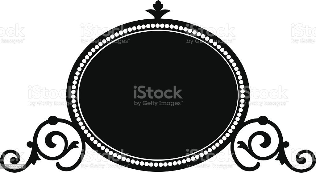 oval1c royalty-free stock vector art