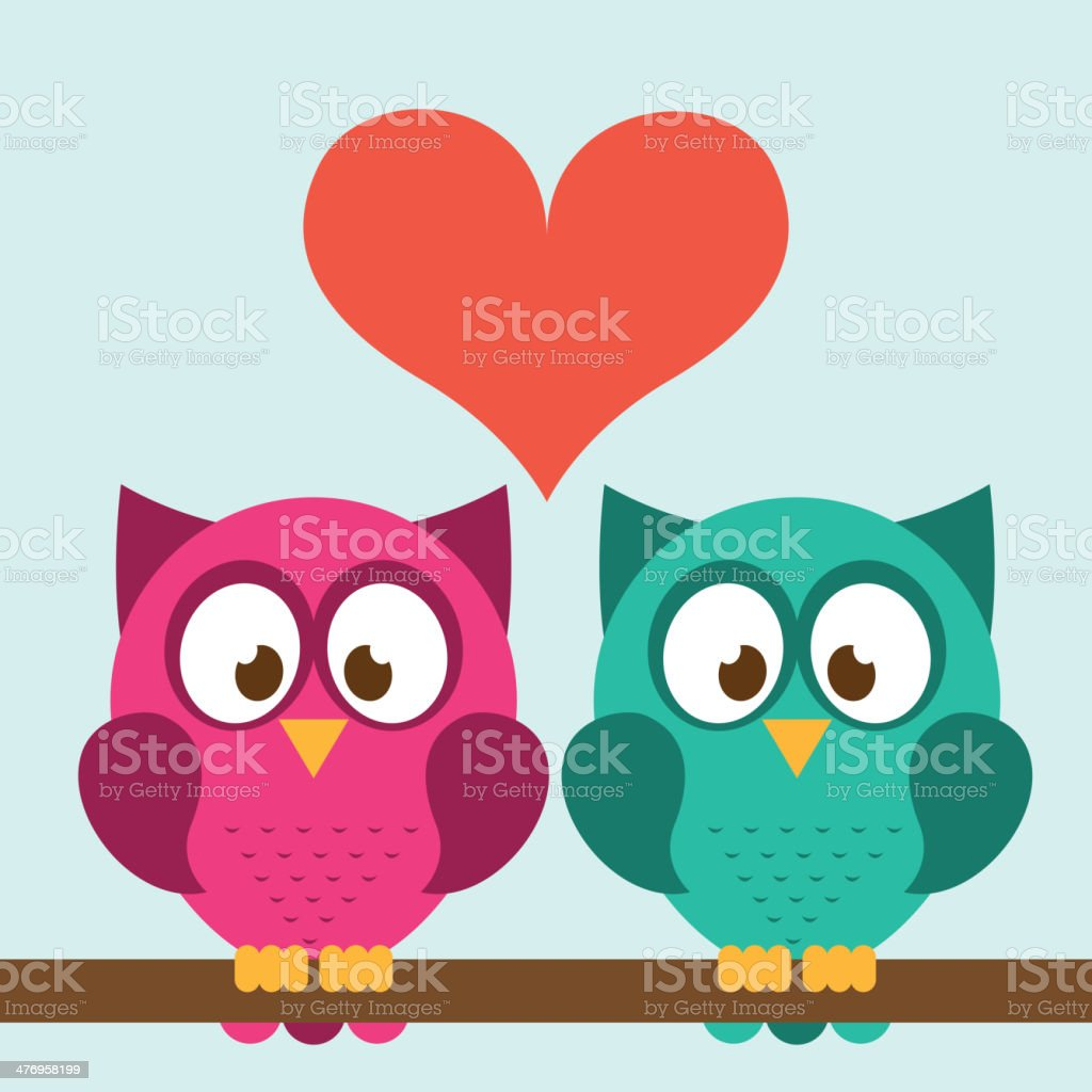 Owl Design vector art illustration