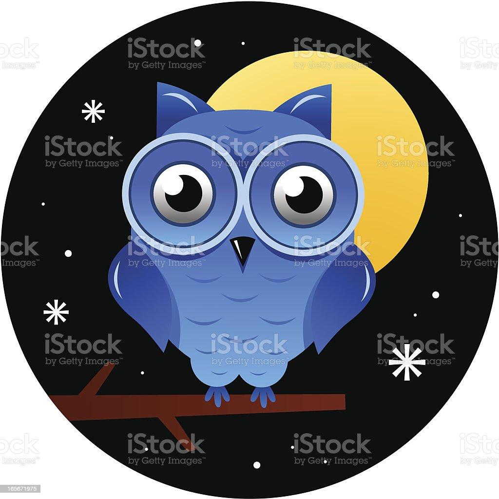 Owl royalty-free stock vector art