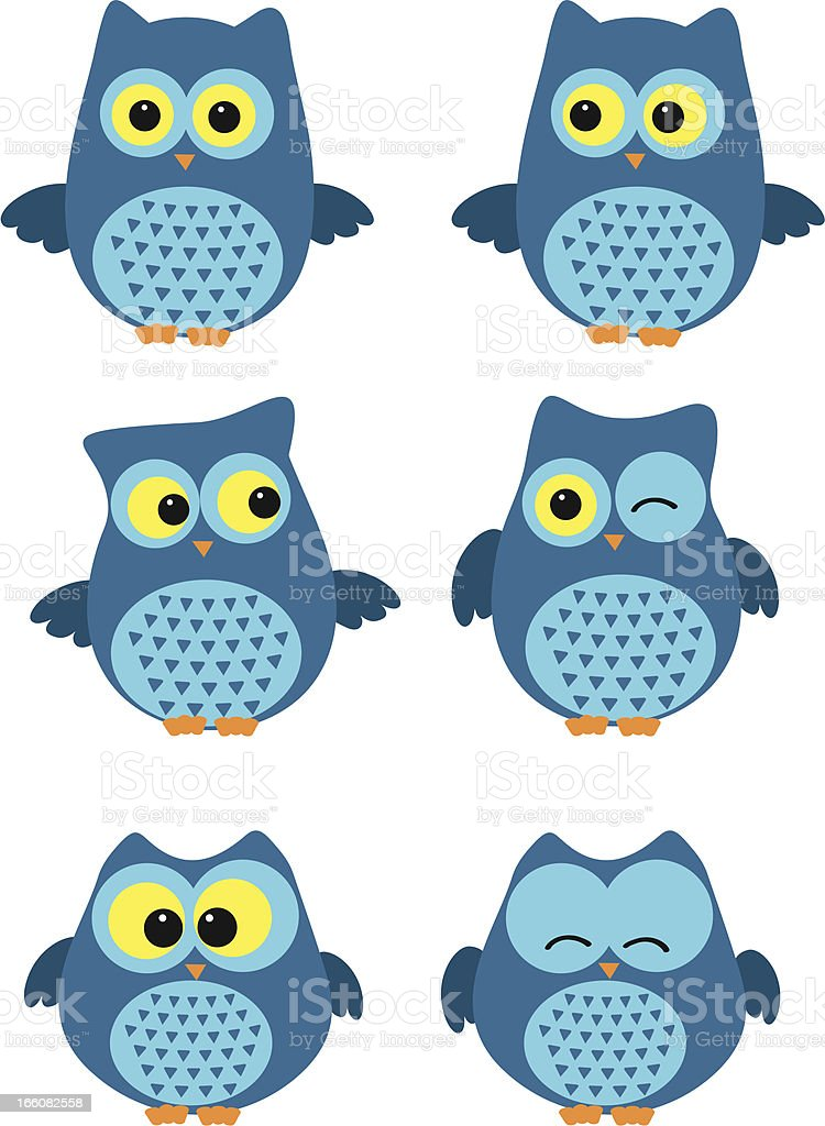 owl royalty-free stock vector art