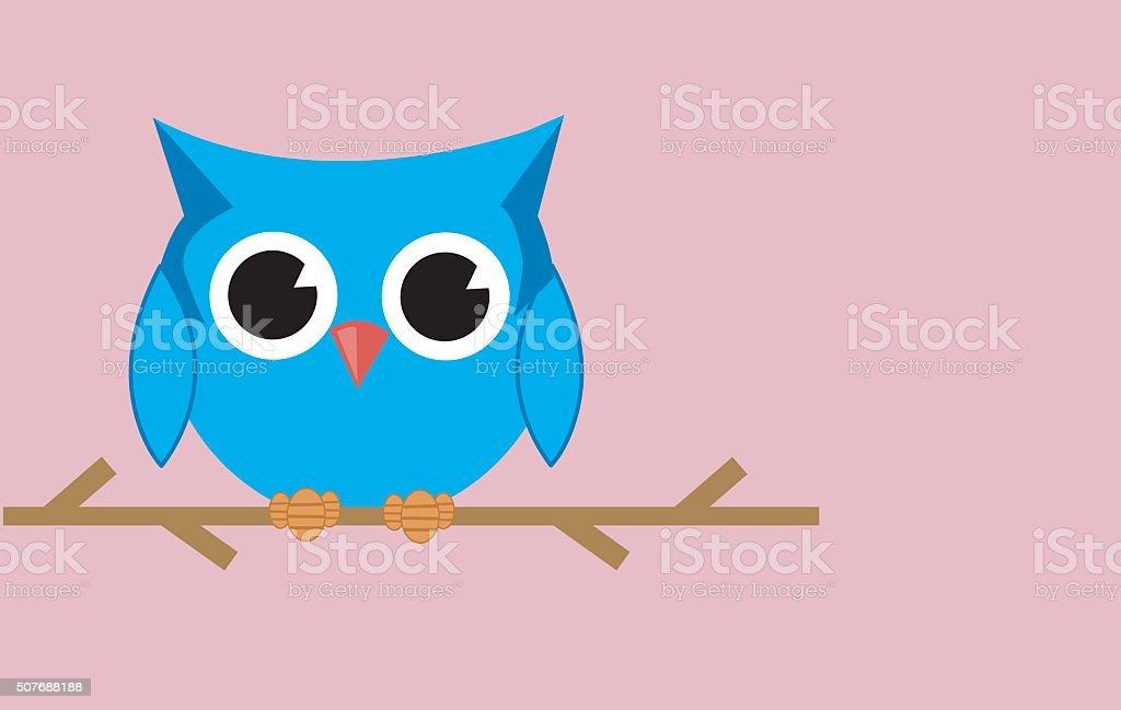 Owl vector art illustration