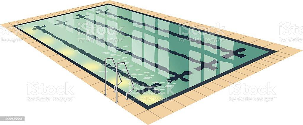 Pacific Pool vector art illustration