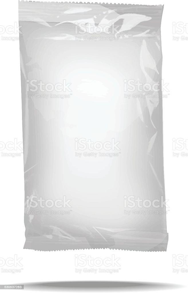 package blank template vector art illustration