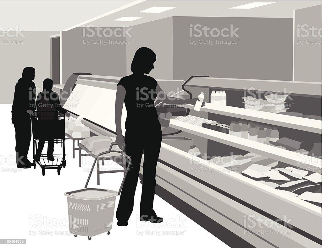 Packaged Food vector art illustration