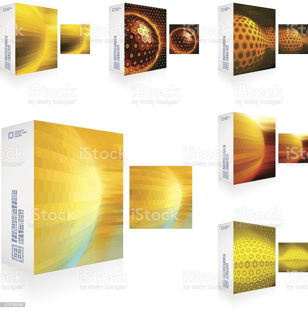 Packaging box. vector art illustration
