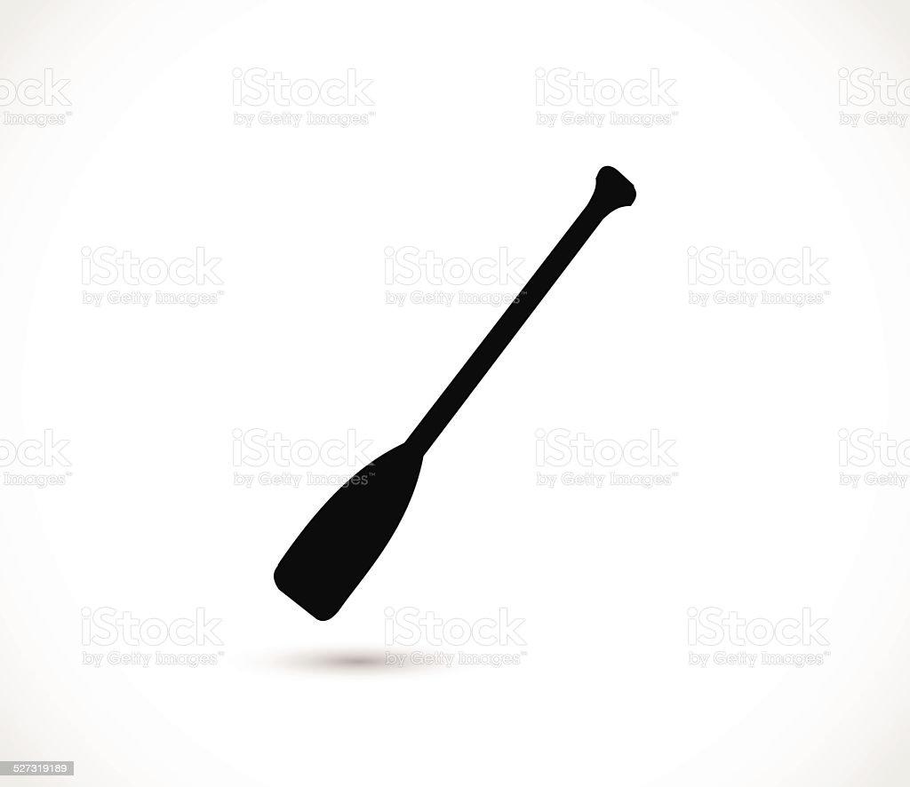 Paddle icon vector illustration vector art illustration