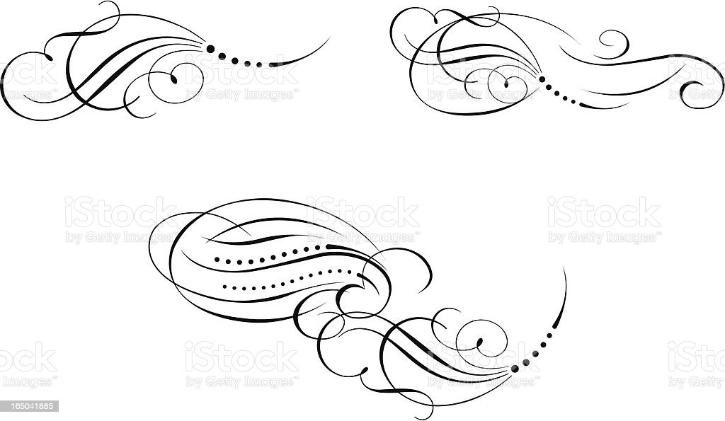 Page Decoration royalty-free stock vector art