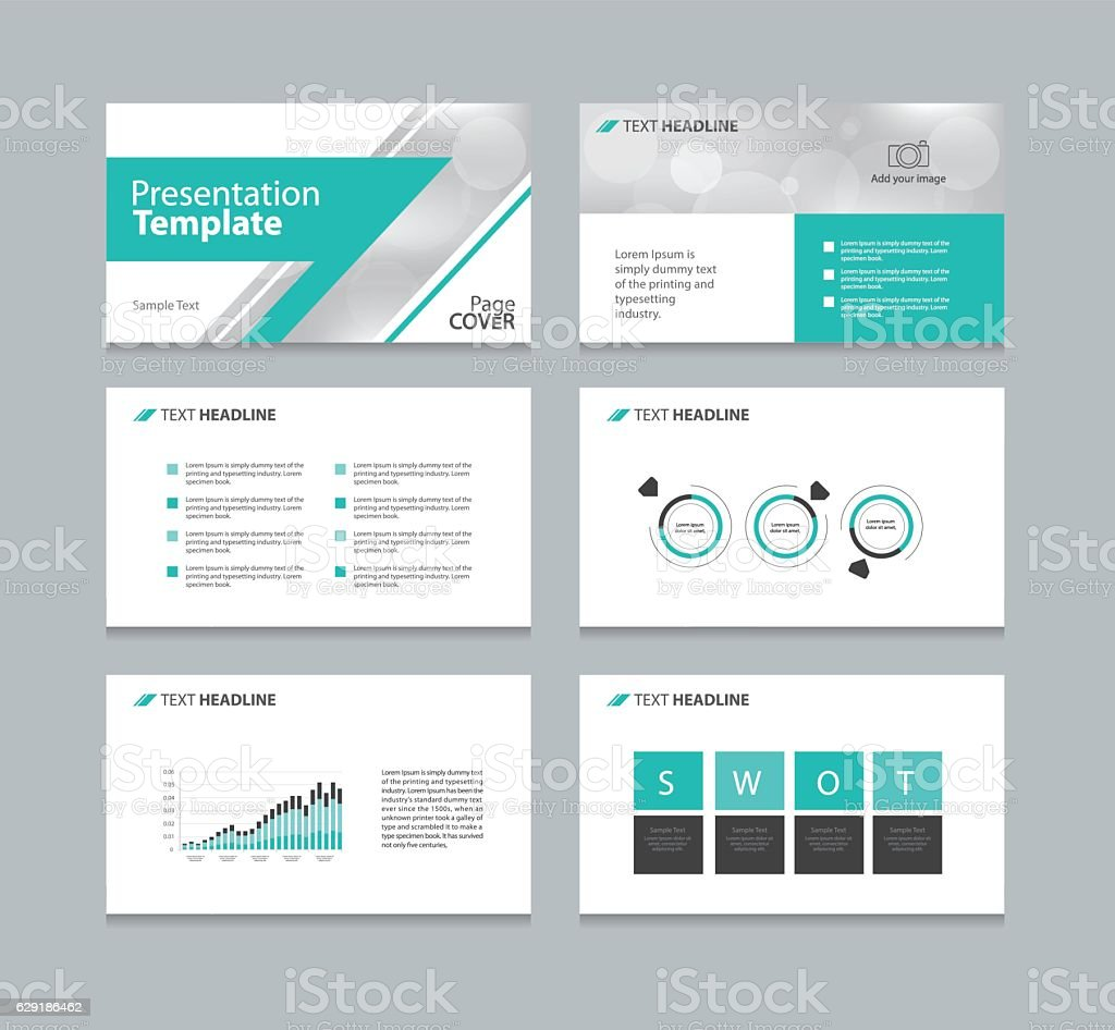 page layout design template for business presentation stock vector 1 credit