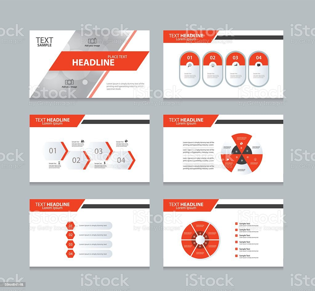 page presentation layout design template with info graphic element, Templates