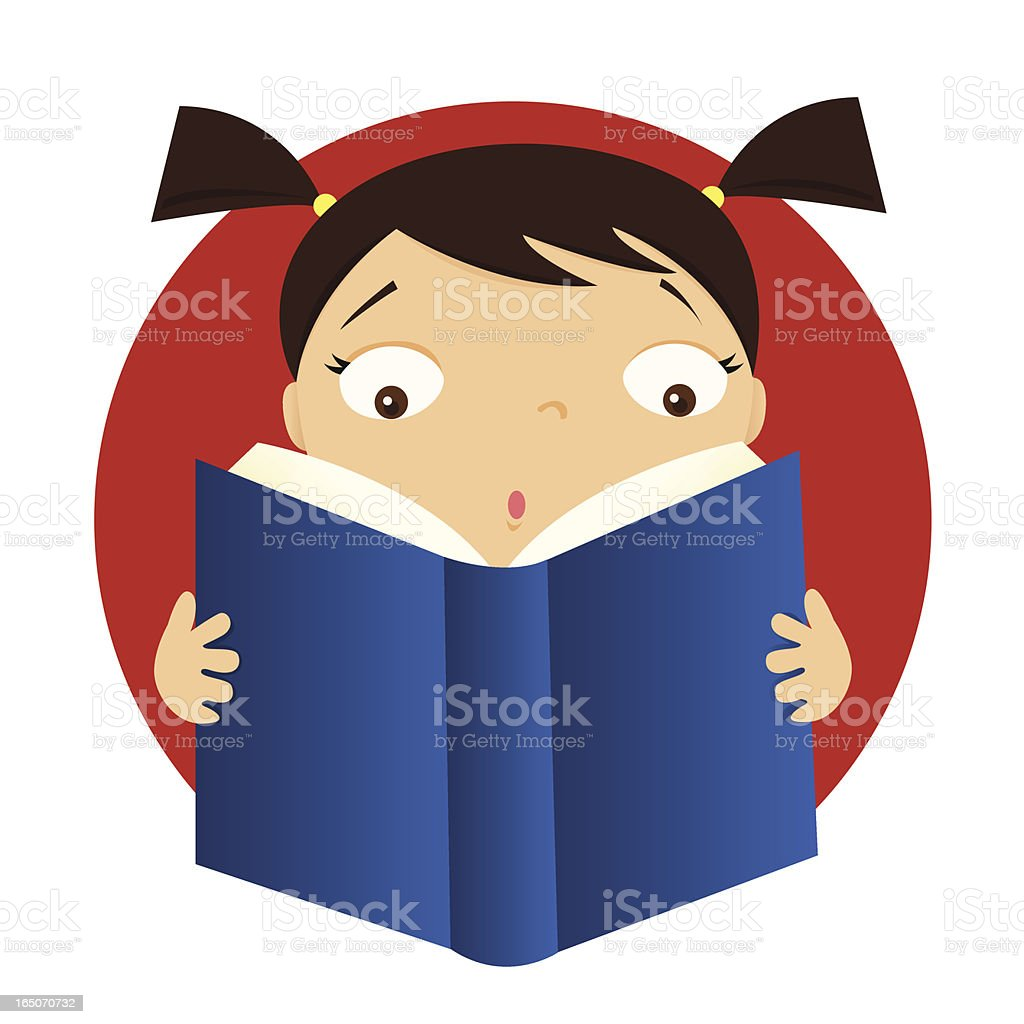 Page Turner royalty-free stock vector art