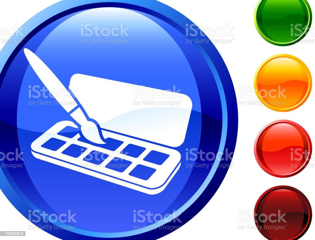 paint set internet royalty free vector art royalty-free stock vector art