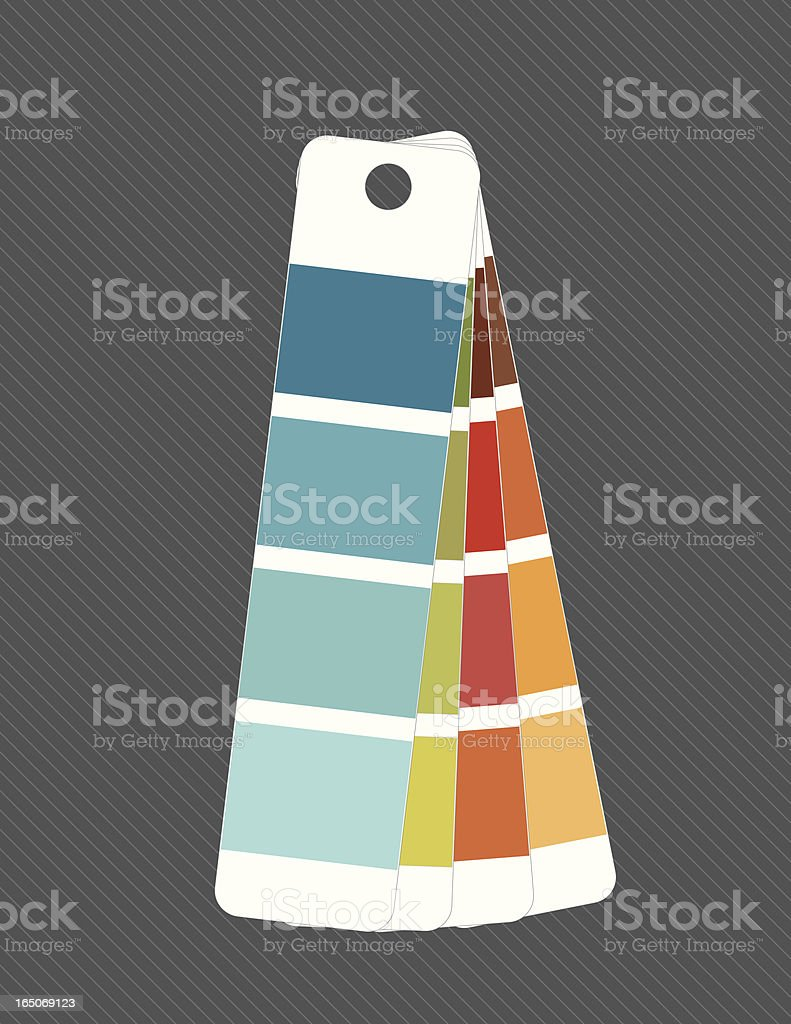 paint swatches royalty-free stock vector art
