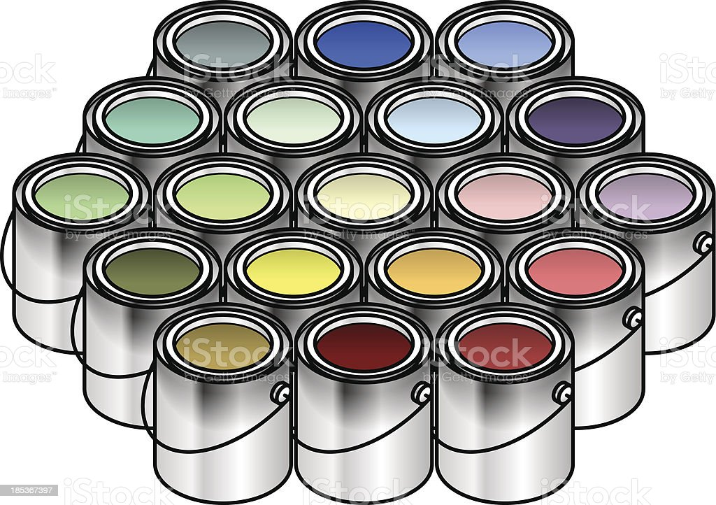 Paint royalty-free stock vector art