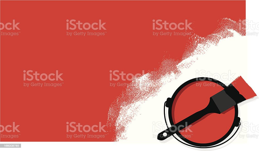 Paintbrush Background royalty-free stock vector art