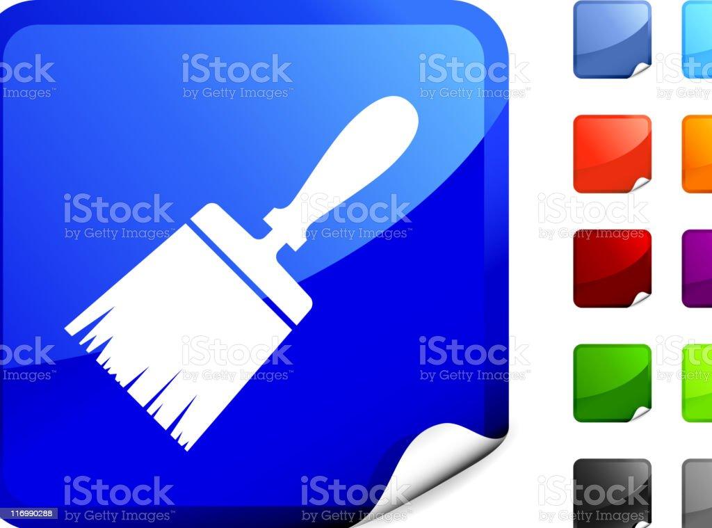Paintbrush internet royalty free vector art royalty-free stock vector art