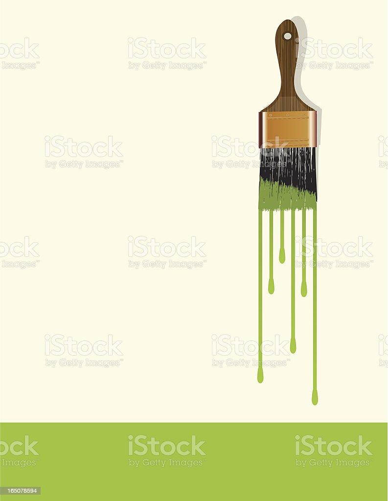 Paintbrush royalty-free stock vector art
