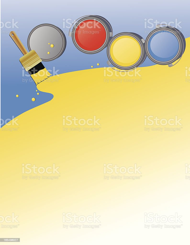 Painted Floor Background royalty-free stock vector art