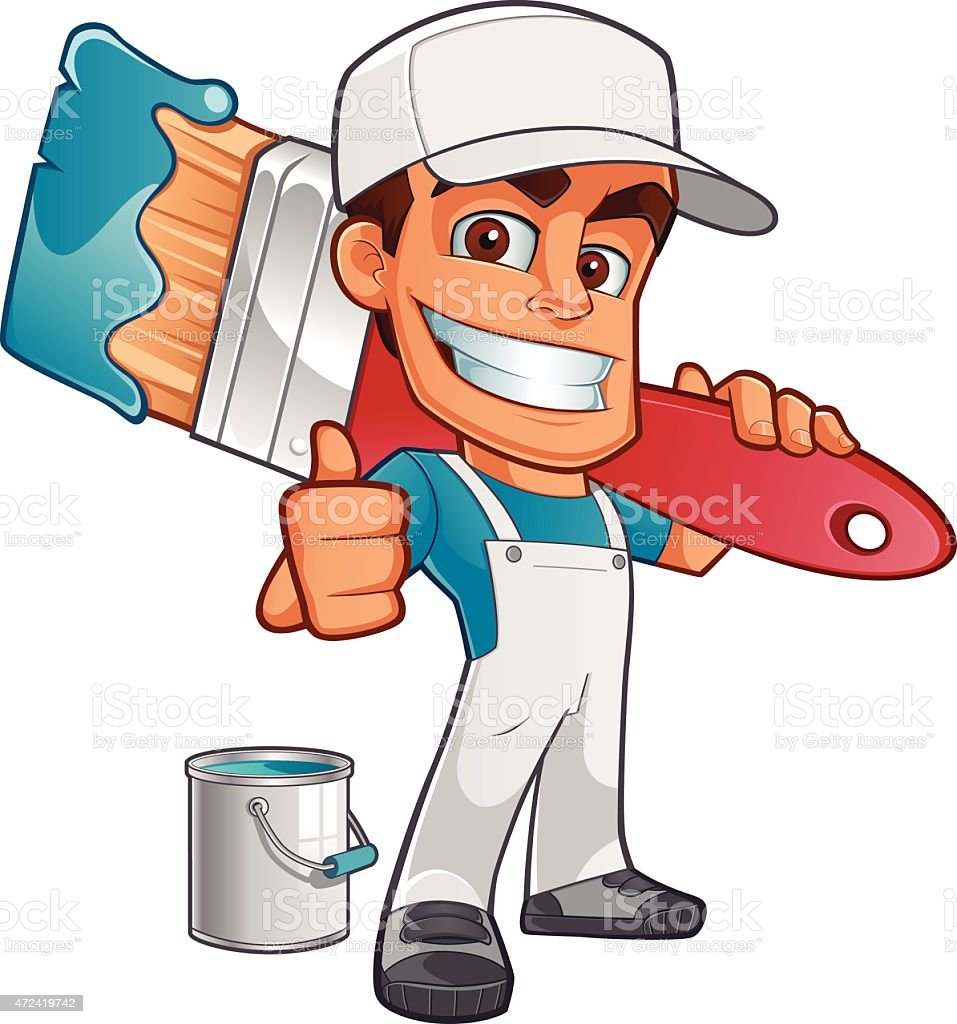 painter clip art  vector images   illustrations istock painter clip art free painting clip art free