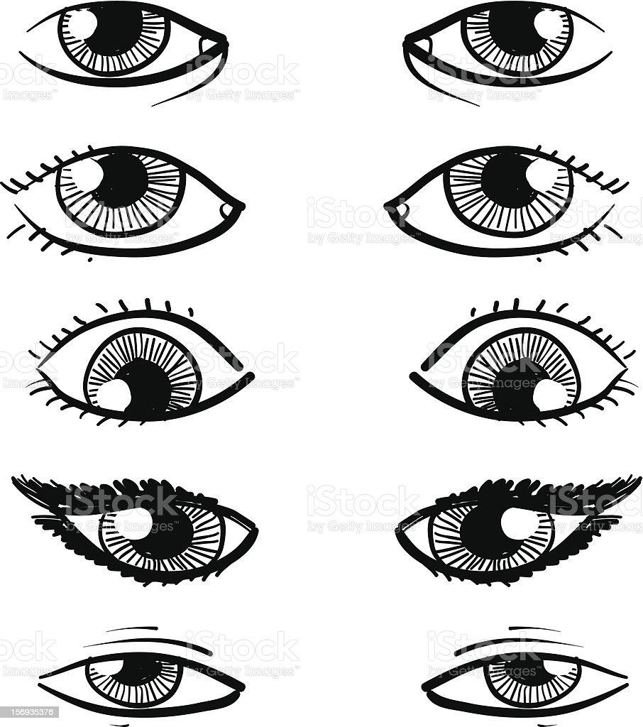 Pair Of Human Eyes