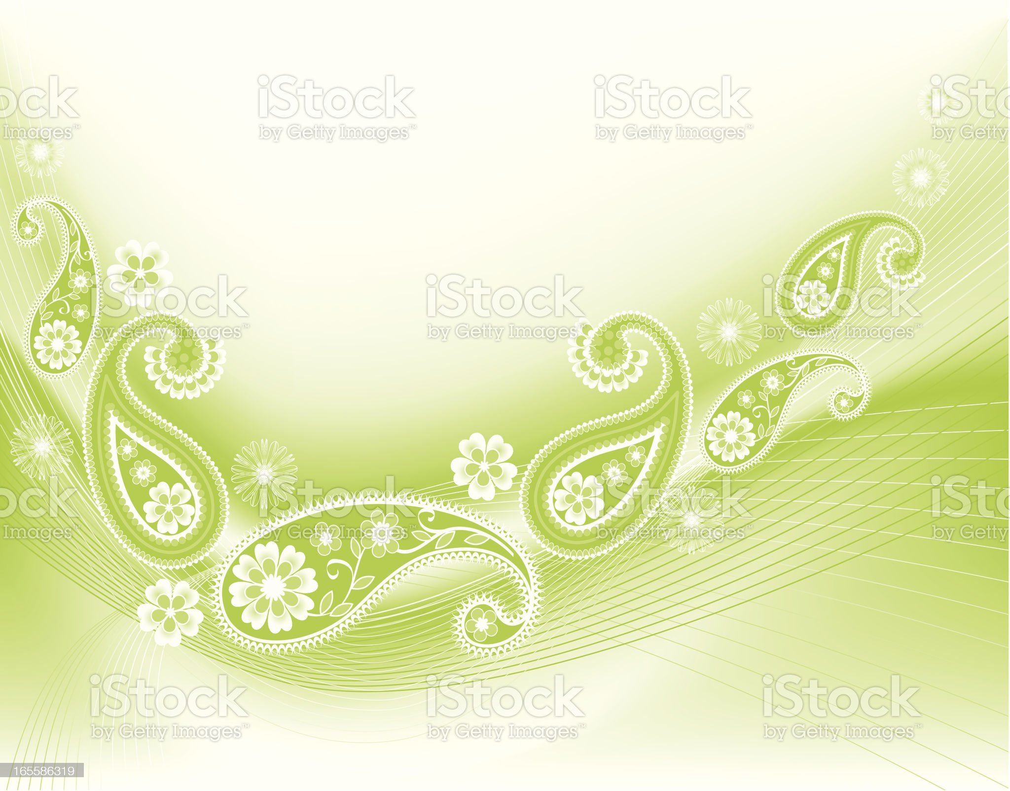 Paisley background royalty-free stock vector art